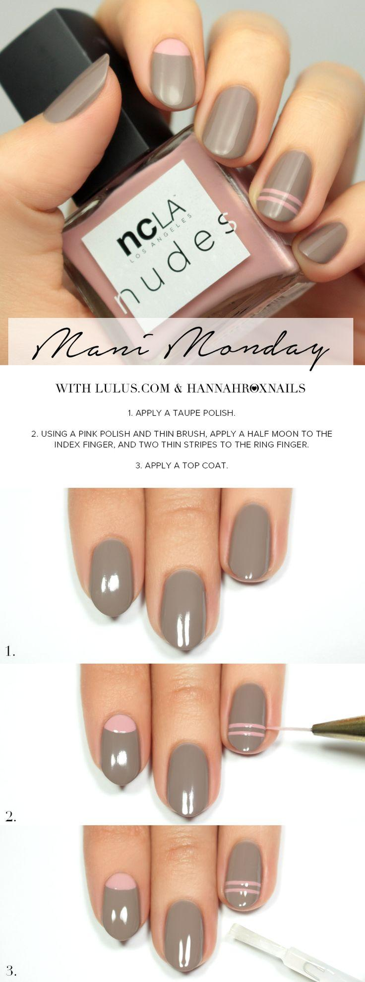Свадьба - Mani Monday: NCLA Match Made In Cali Nail Tutorial (Lulus.com Fashion Blog)