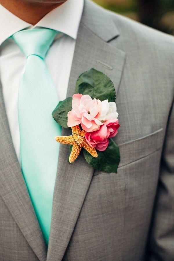 Stylish Groom Boutonniere Ideas For Summer Weddings ...