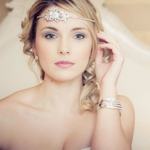 Свадьба - MG907 Wedding Headband (blo)