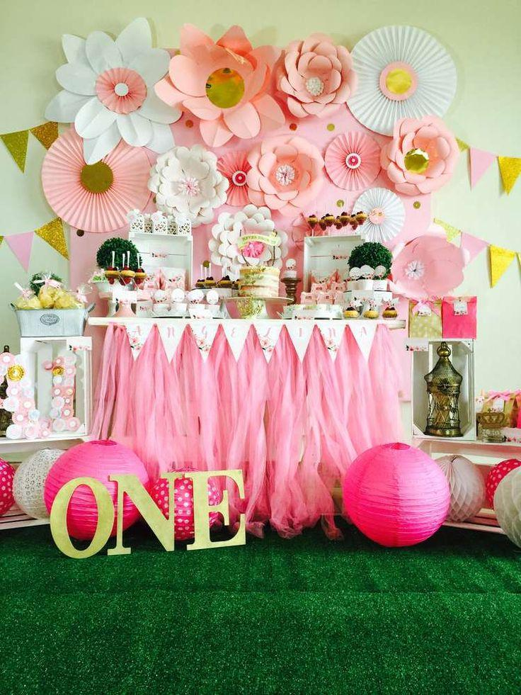 Wedding - Angelina's Turns One Birthday Party Ideas