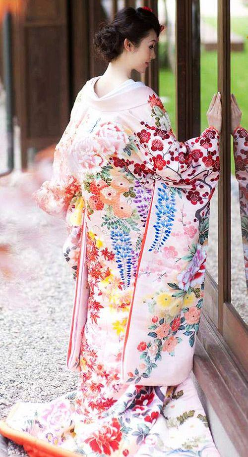 Wedding - Uchikake, The Another Wedding Kimono