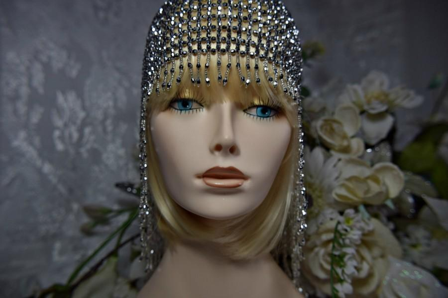 GREAT GATSBY HEADPIECE, 1920's Headpiece, Flapper Headpiece, Roaring 20s Headpiece Gatsby ...