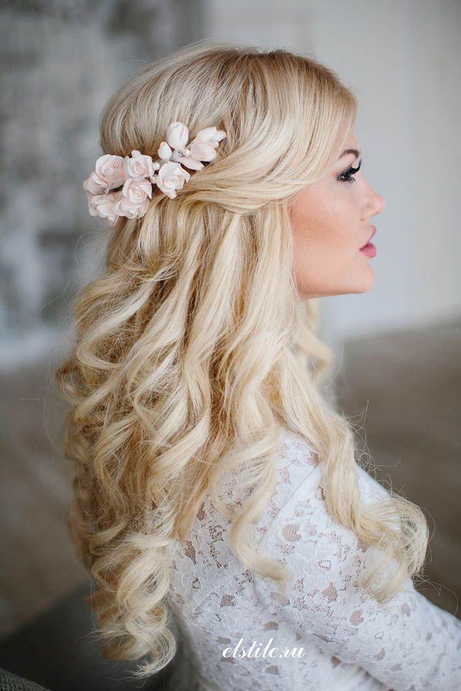 Свадьба - 36 Stunning Half Up Half Down Wedding Hairstyles