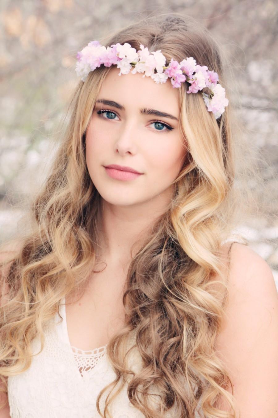 Свадьба - bridal headpiece, rustic wedding flower, bridal hair headpiece, woodland wedding