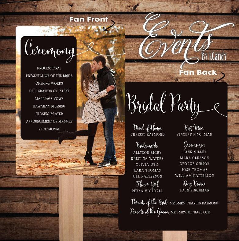 Printed Sample For 2 Dollars Or Sets Of 50 Custom Printed Wedding