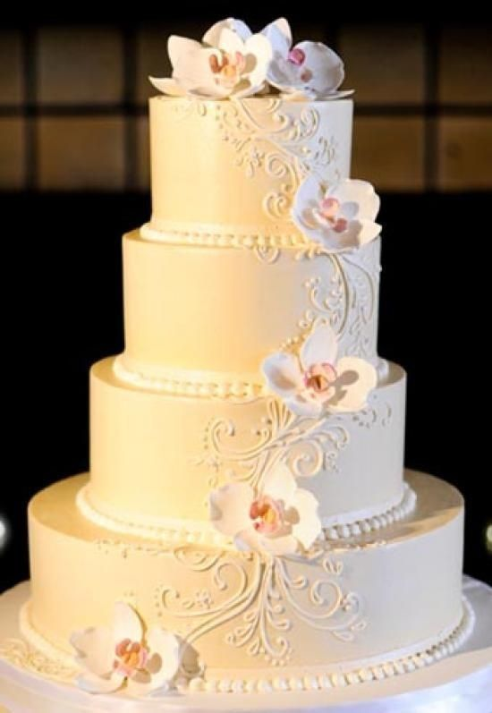 Cake - The White Flower Cake Shoppe #2531482 - Weddbook