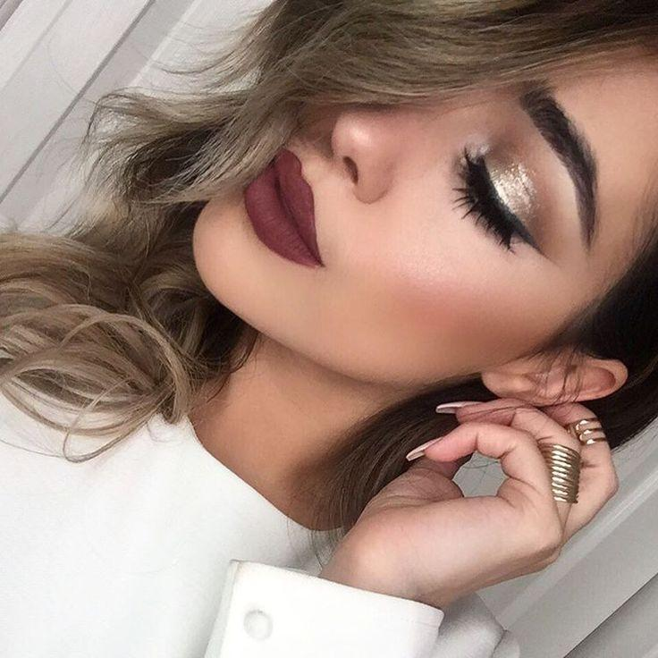 "Wedding - Ashley Rose On Instagram: ""@doseofcolors Always Gets It Right With New Product  Wearing ""disco""  On The Lid And ""Mood"" On The Lips  @girlactik Face Glow…"""