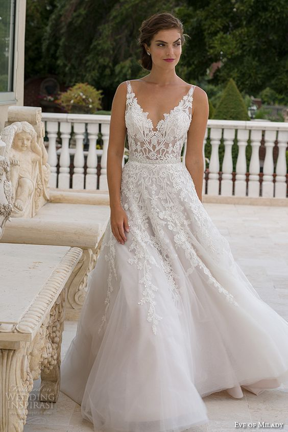 50 Beautiful Lace Wedding Dresses To For