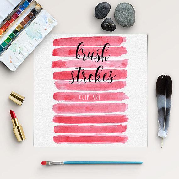 Wedding - Brush Stroke Clip Art