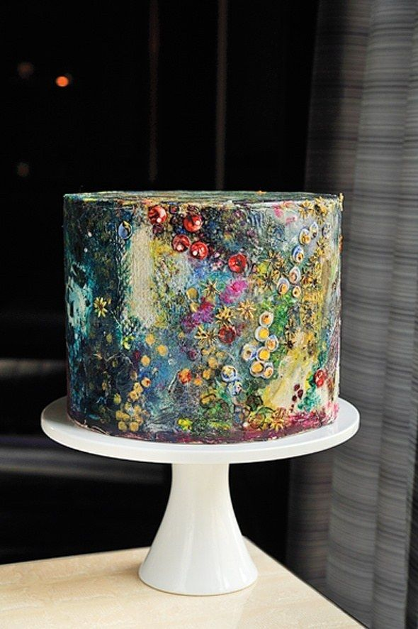 Cake - 26 Small Wedding Cake Ideas #2532000 - Weddbook