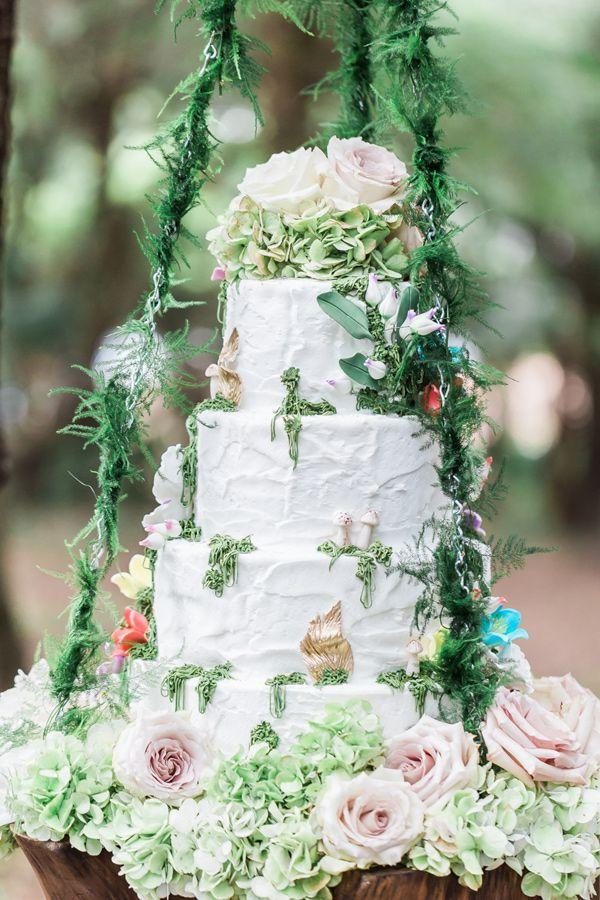 Wedding - Fairy Wedding Cake