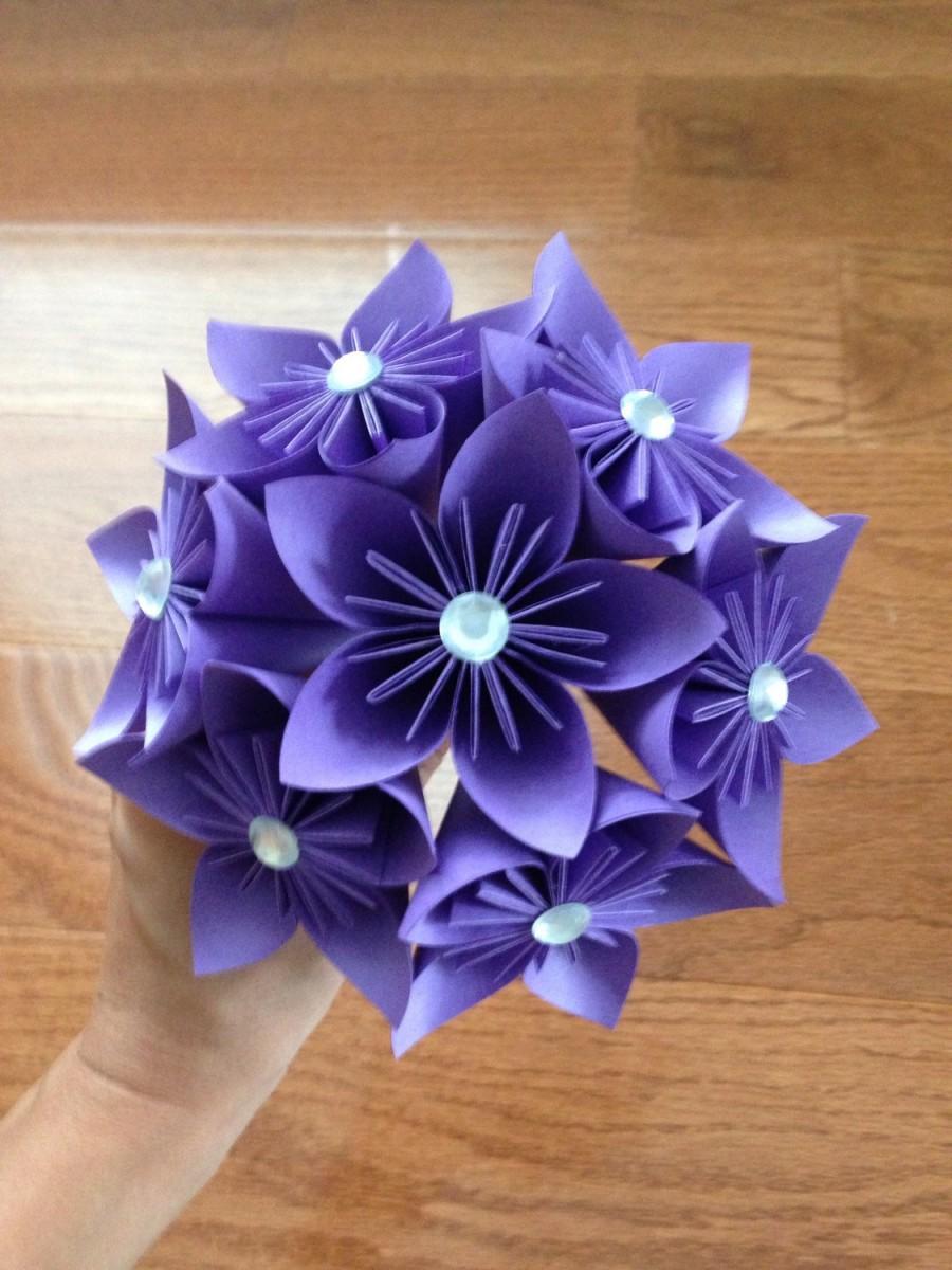 Mariage - Paper Bouquet. You choose the color