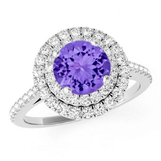 Tanzanite Engagement Rings For Women Tanzanite Wedding Rings For