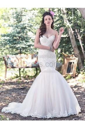 Свадьба - Maggie Sottero Wedding Dresses - Style Lansing 6MZ220
