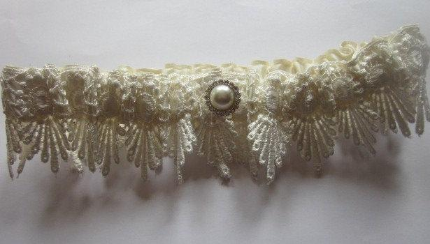 Свадьба - Bridal Garter -  Vintage Inspired Bridal Garter Set