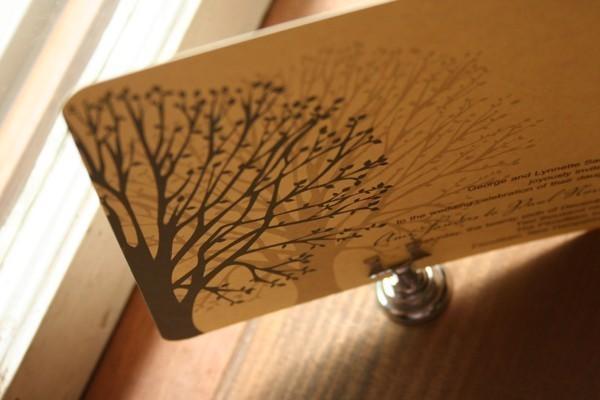زفاف - Wedding Invitation Blooming Tree  - Deposit to get started