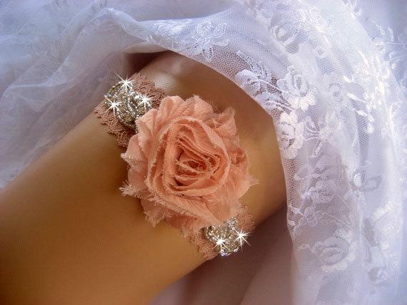زفاف - Prom Garter / Wedding Garter /  Rhinestone Garter / Crystal Garter / Toss Garter / Garter Belt / Garder