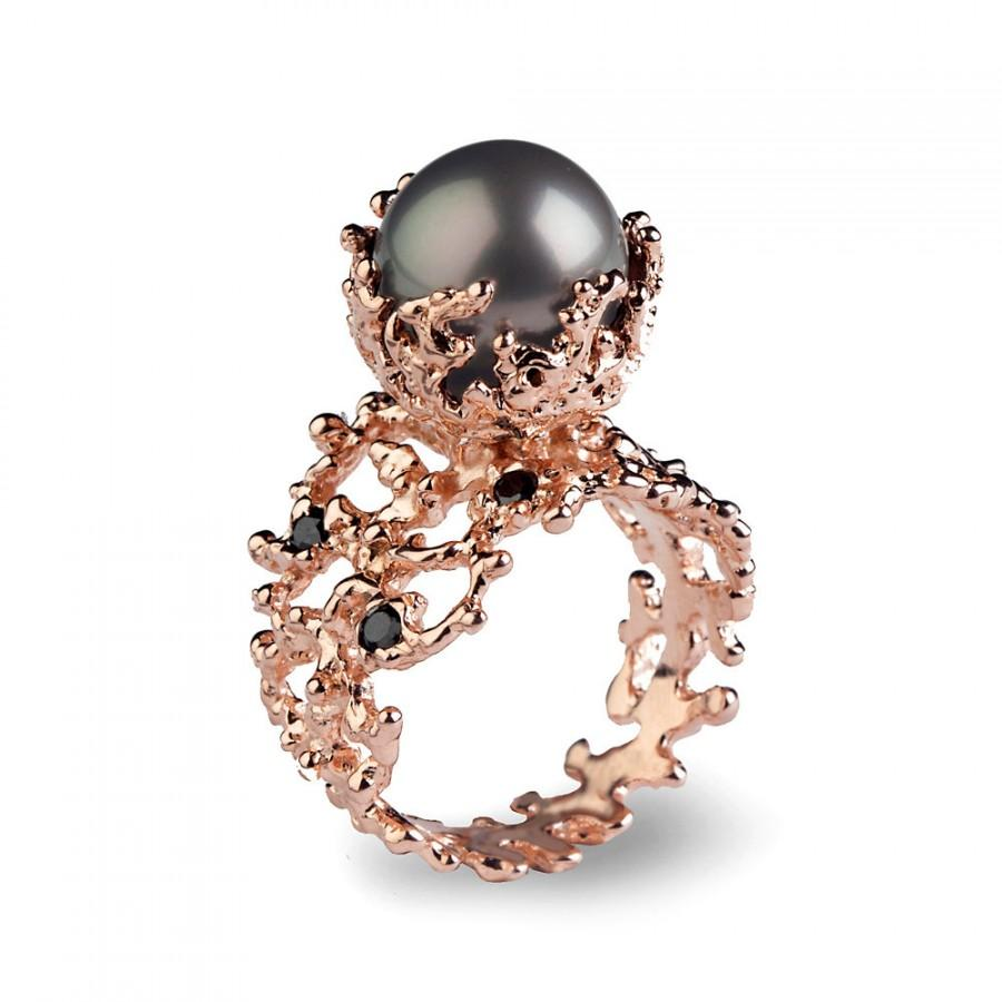 pink engagement cocktail ring products cultured sophie jane diamond pearl rings