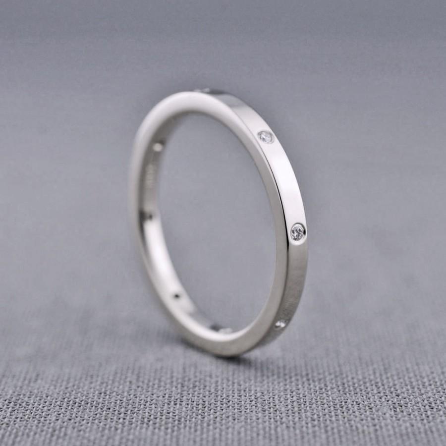Mariage - Diamond Eternity Ring with 8 diamonds