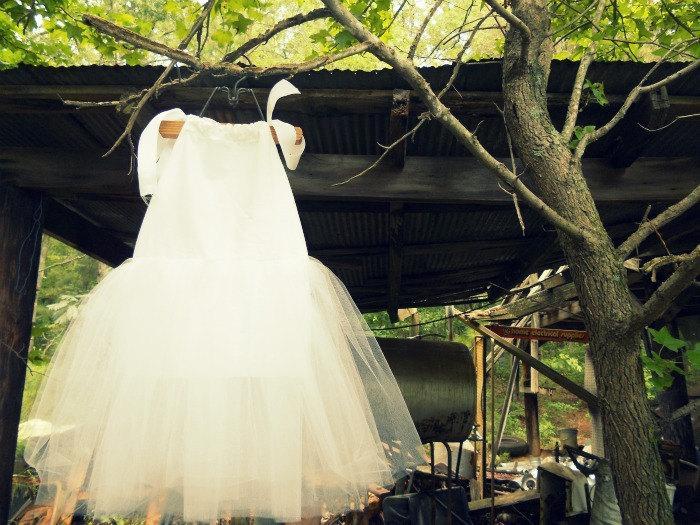 Wedding - Ballerina Princess Flowergirl Wedding Pillowcase Tutu Dress, Sizes 1, 2, 3 (sewn)