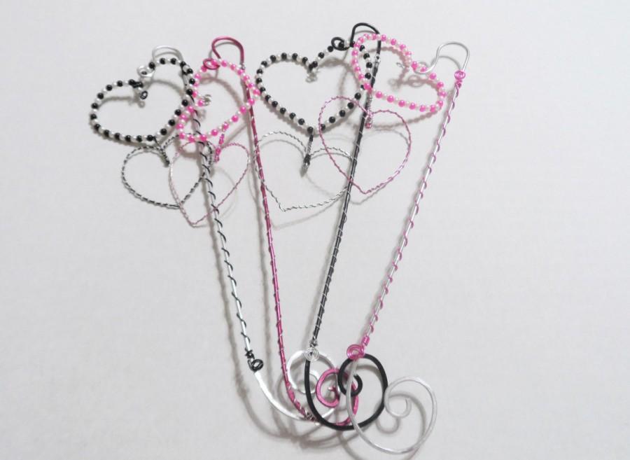 Свадьба - Flower girl wand, wire wrapped wands, Spring wedding wands, Alternative flower girl bouquet, Fairy princess wands, Wedding wands