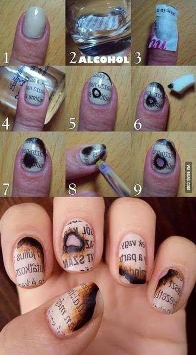 Mariage - Supremely Cool Nail Art - Do It In Minutes!