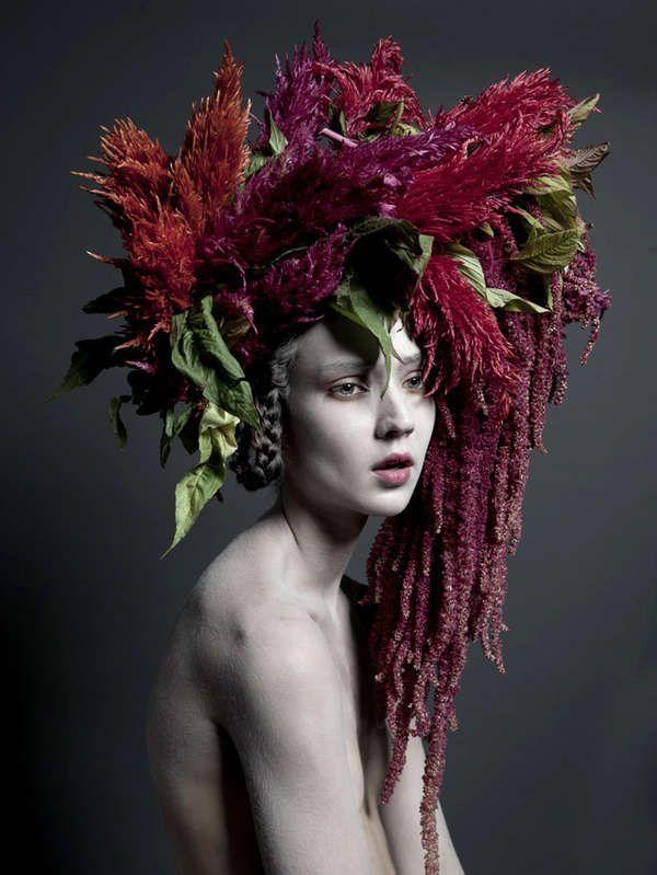 Hochzeit - Bohemian Woodland Headpieces : Carine Thevenau