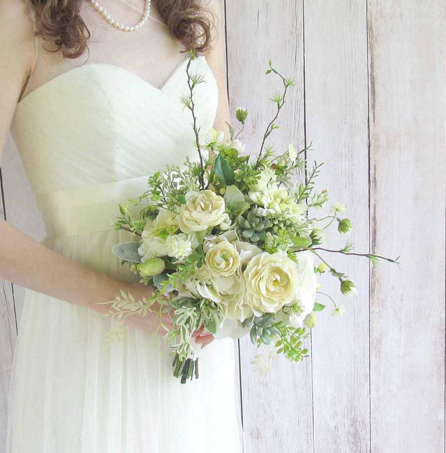 Mariage - Ivory Garden Bouquet for your Wedding...Example Only!! DO NOT PURCHASE