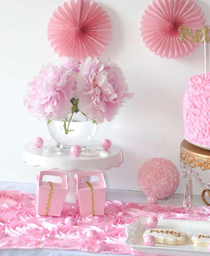 Pink U0026 Gold Office Party Party Ideas
