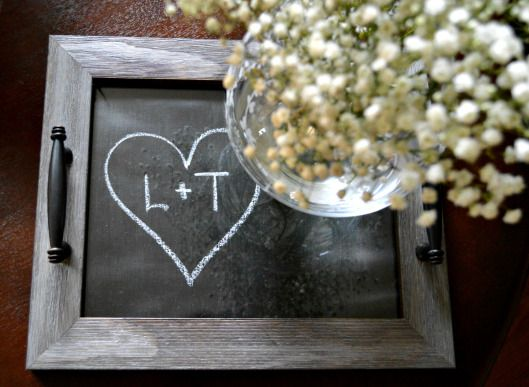 Свадьба - DIY Personalized Trays