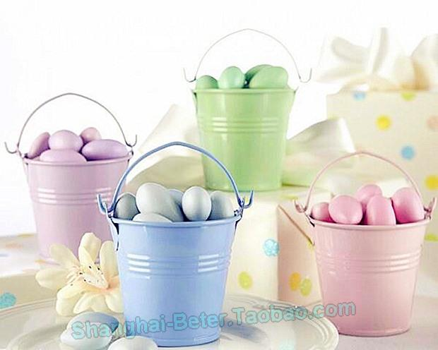 Mariage - Candy Tin Pails Party Decor