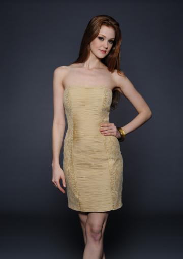 Wedding - Short Sleeveless Dress