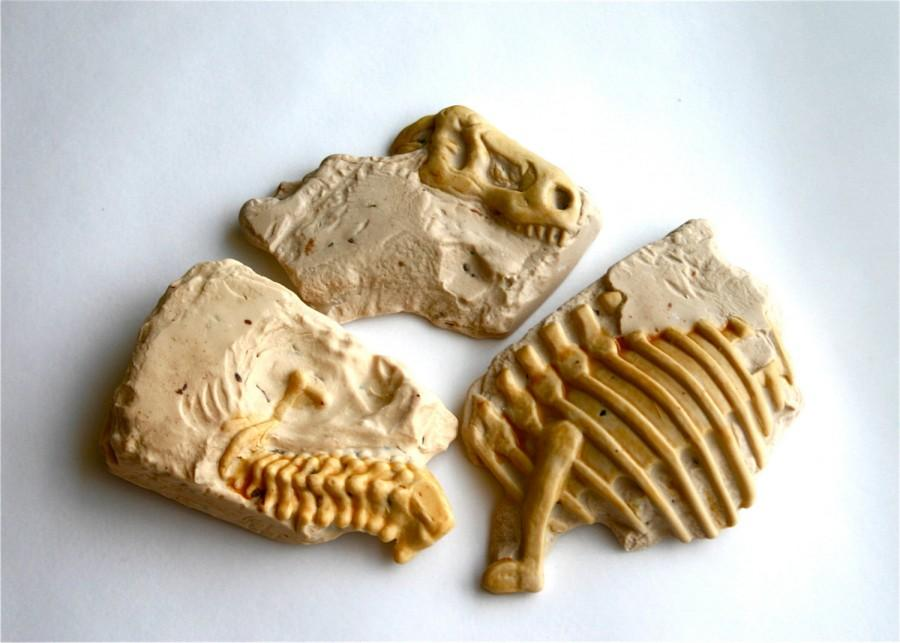 Свадьба - Dinosaur Fossil Candy -3- (salted caramel candy wrapped around dark chocolate and butter toffee)