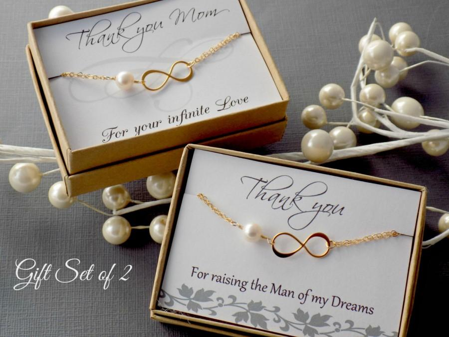 Mother Of The Groom Gift: Mother Of The Bride & Groom Gift Set, HUGE SALE Gold
