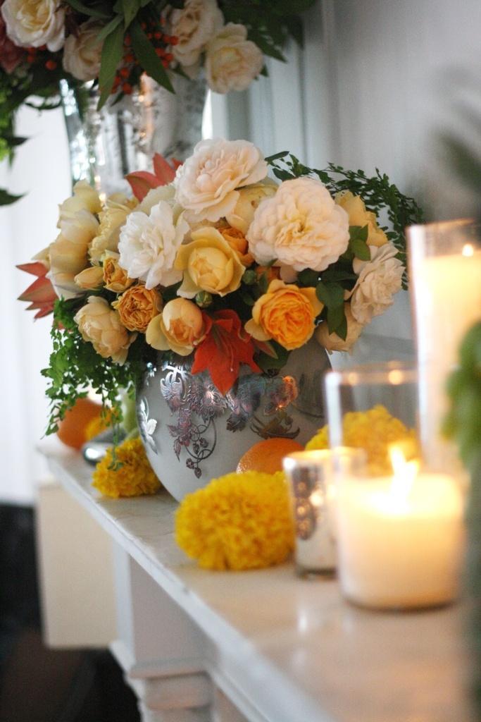 زفاف - Vintage Flowers
