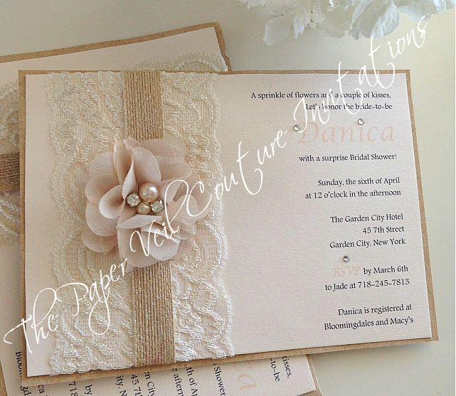 Burlap Baby Shower Invitations as nice invitations template
