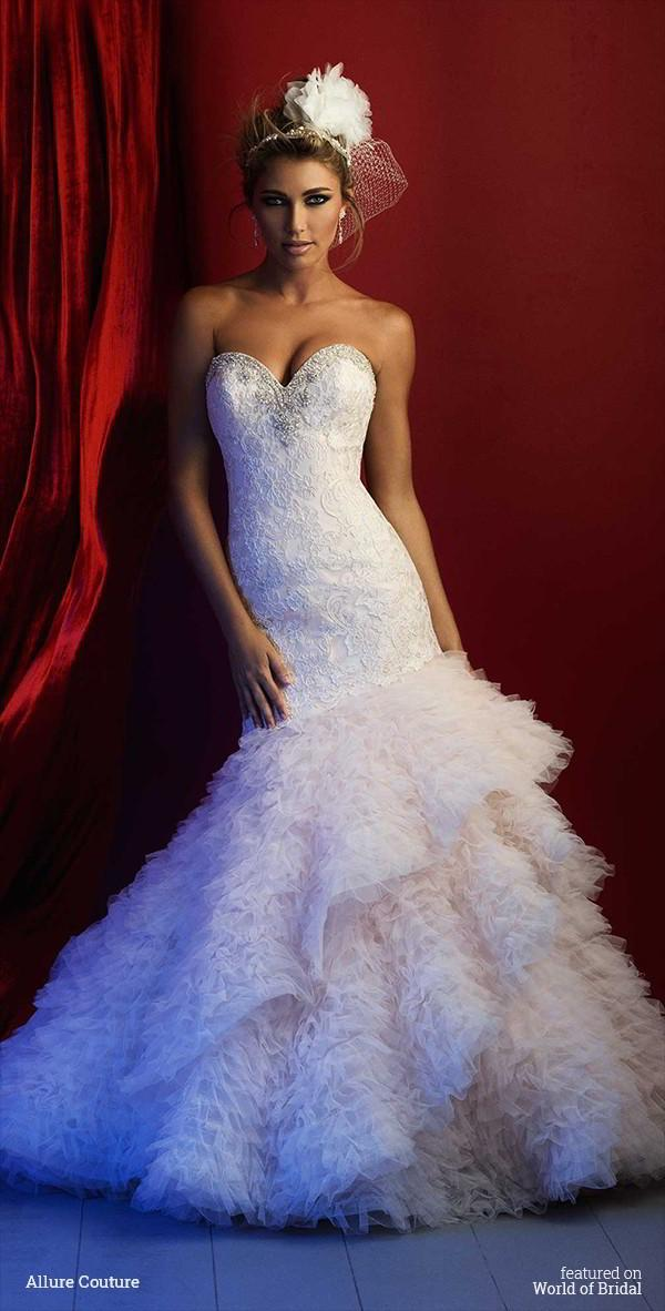 2 Be Couture Wedding Dress : Wedding allure couture spring dresses