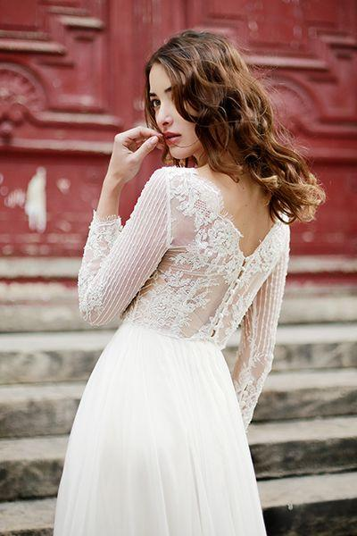 Mariage - 60 Stunning Wedding Dresses With Sleeves