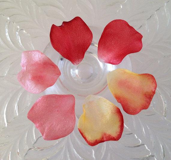 زفاف - Edible Rose Petals
