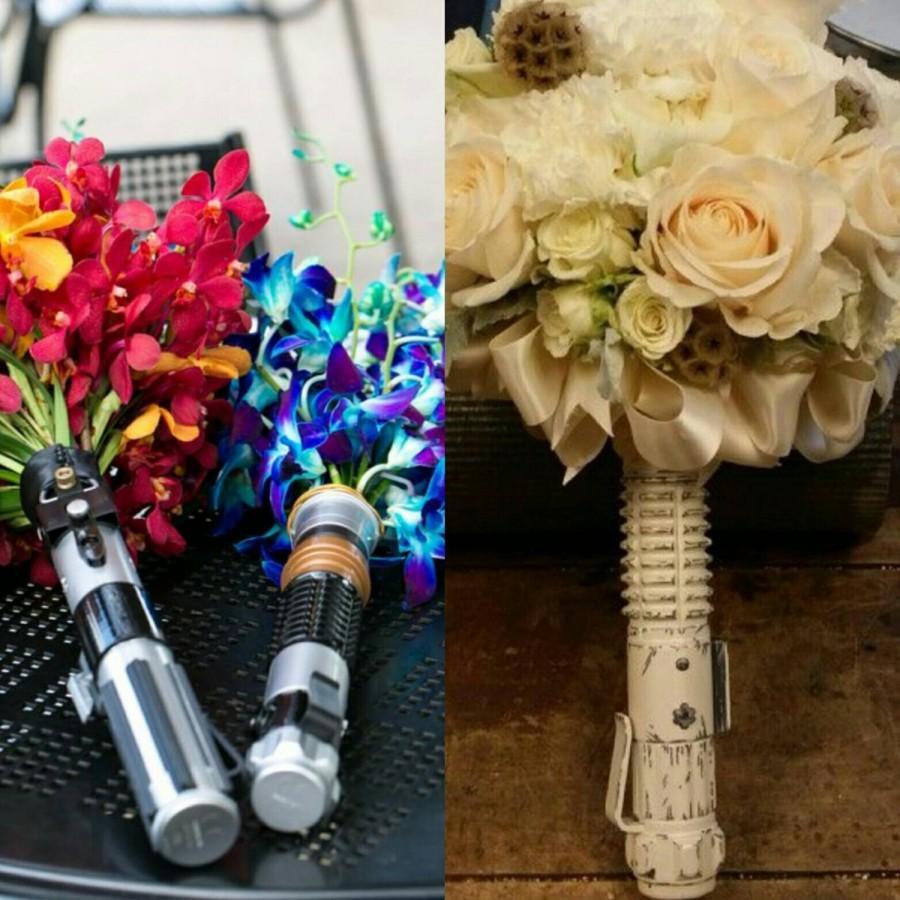 Star wars disney wedding lightsaber boquet flower holder 2535382 star wars disney wedding lightsaber boquet flower holder izmirmasajfo