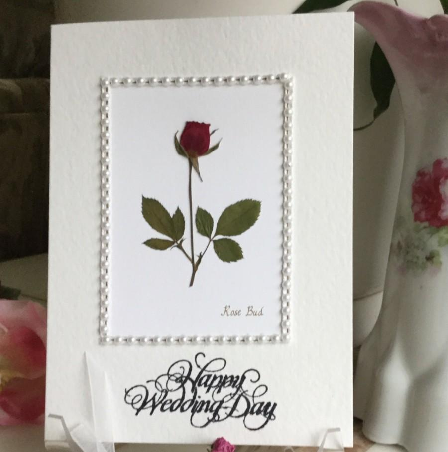 Wedding wishes marriage card happy wedding day marriage wishes wedding wishes marriage card happy wedding day marriage wishes pressed flower greeting card rose framed with pearls m4hsunfo