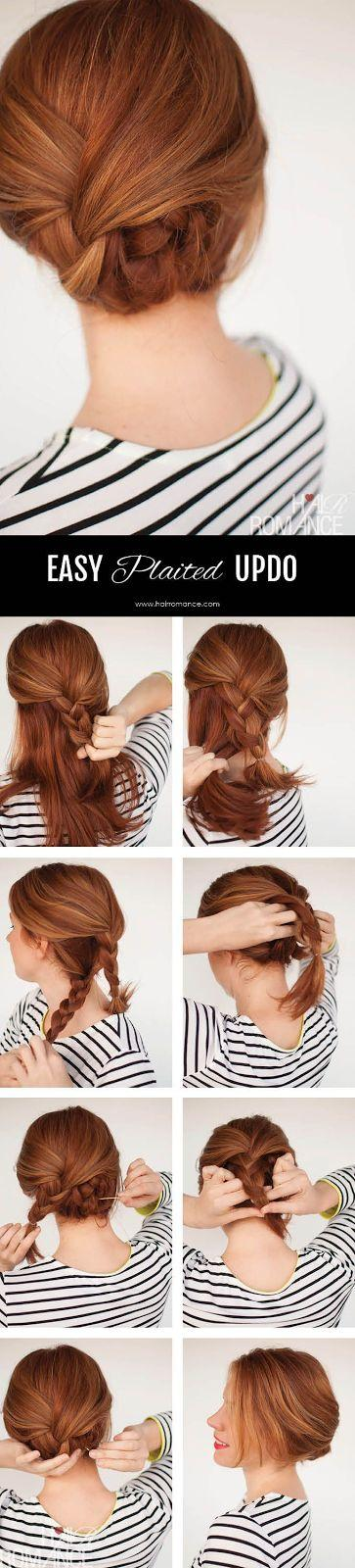 Mariage - 50 Simple Five Minute Hairstyles For Office Women: DIY