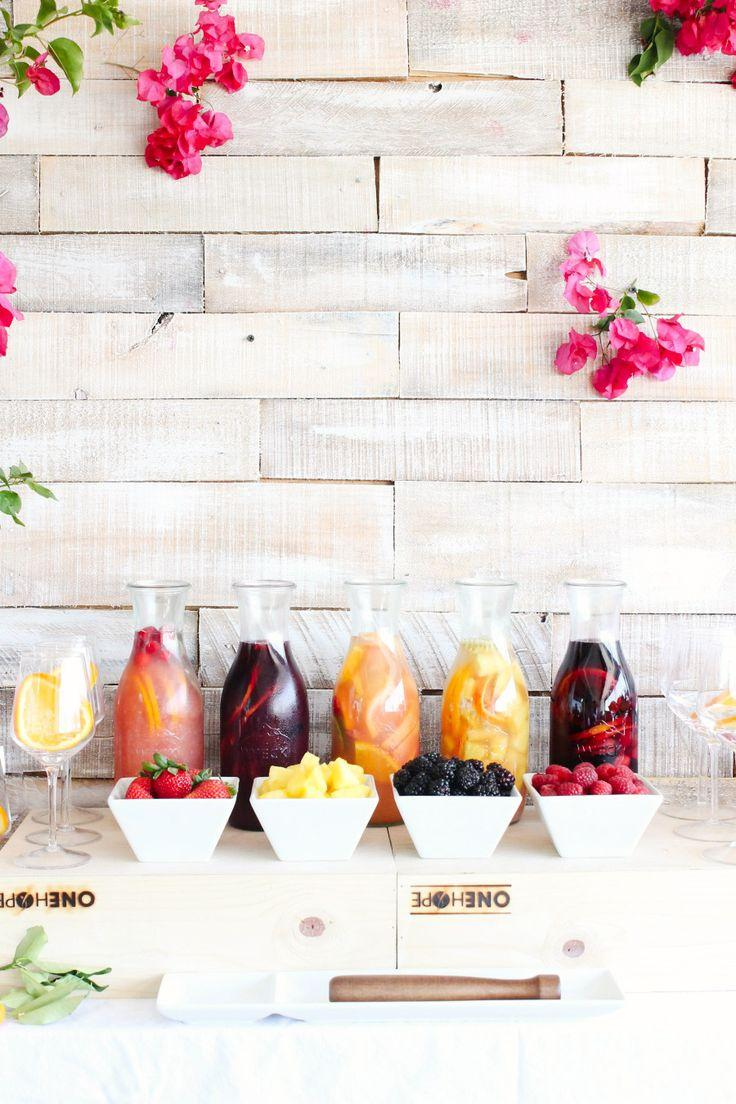 Mariage - 16 DIY Food And Drink Stations For Your Next Party