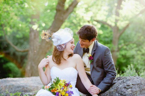 Свадьба - Colorful And Sweet Elopement Wedding By Kelly Lorenz Photography