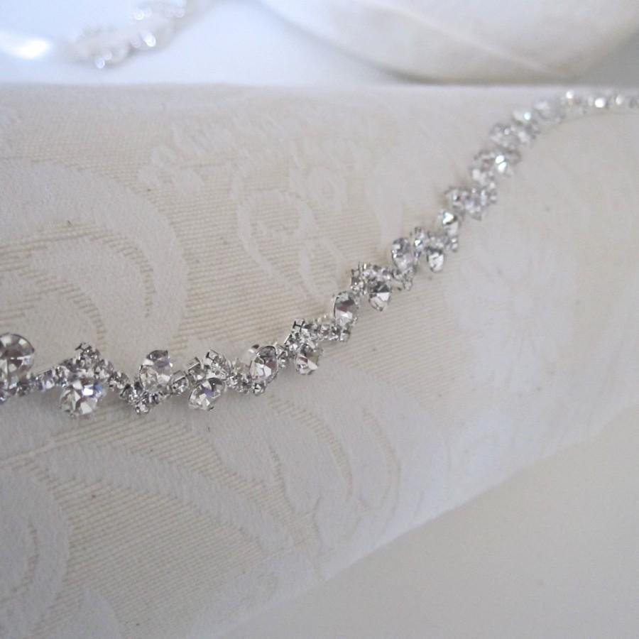 Mariage - Wedding Headpiece, Rhinestone Headband, Bridal Headband