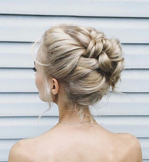 Mariage - 20 Beautiful Braided Updos For Brides