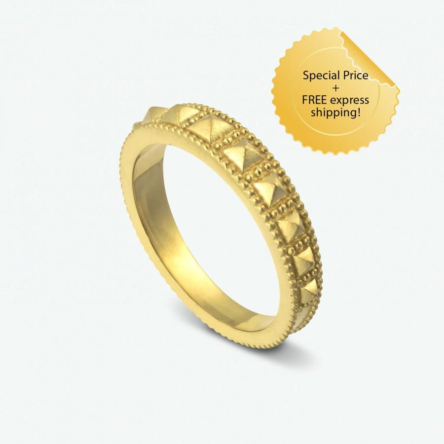 gold thin band never knew facts minimalist unique jewellery about bands ring rings mens wedding you seven