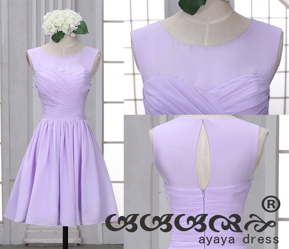 Lavender Short Bridesmaid Dress Dresses With Sweetheart Neckline Prom Evening 2016