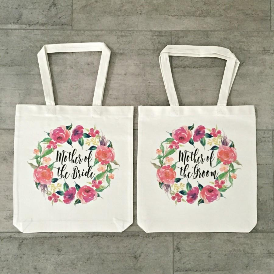 Свадьба - Mother Of The Bride and Mother Of The Groom Tote Bag (Set of 2)