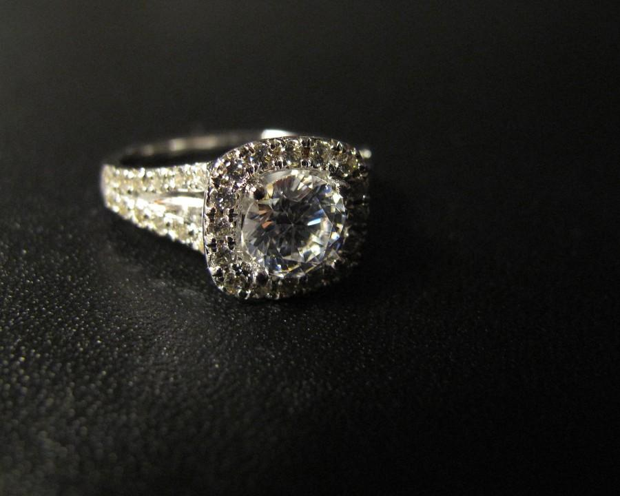 Mariage - Classic Designer Inspired Engagement Ring, Made to Order